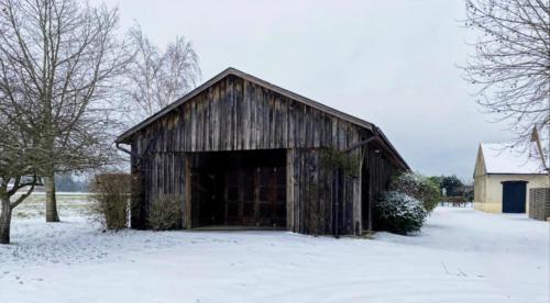 La grande salle en hiver